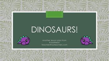 Dinosaur Preschool Activities