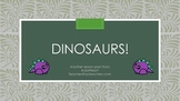 Dinosaur Preschool Activities