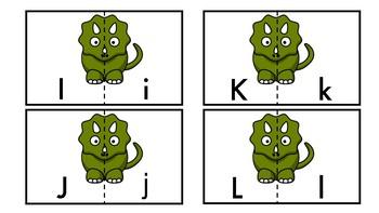 Dinosaur Letter Match