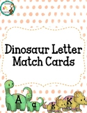 Dinosaur Letter Match Cards