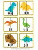 Dinosaur Letter Match Puzzles
