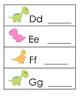 Dinosaur Letter Practice