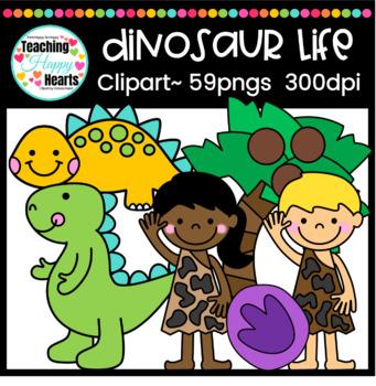 Dinosaur Life Clipart