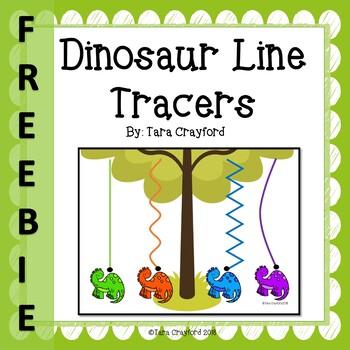 Dinosaur Line Tracers