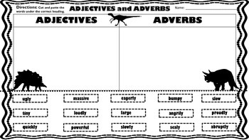 Dinosaur Literacy Activities