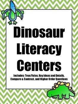Dinosaur Literacy Centers