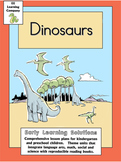 Dinosaur Literacy Math Unit