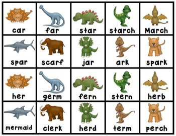 Dinosaur Literacy and Math Centers