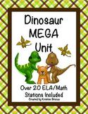 Dinosaur MEGA Stations: ELA and Math