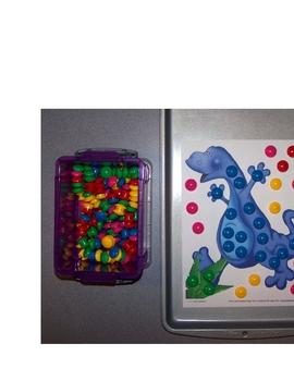 Dinosaur Magnet Sheets