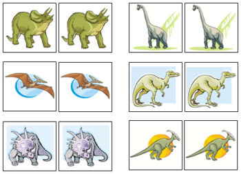 Dinosaur Match-Up and Memory