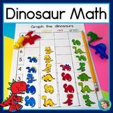 Dinosaur Math: Graphing, Sorting and Venn Diagram Math Centers