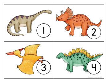 Dinosaur Math 3-Pack (Preschool)