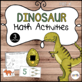 Dinosaur Math 3-Pack (Preschool)