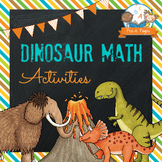Dinosaur Math Activities