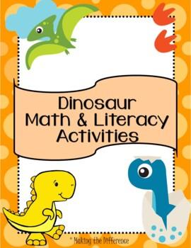 Dinosaur Math Activities