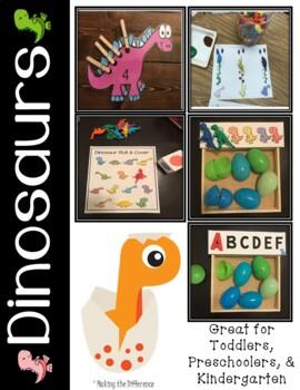 Dinosaur Math and Literacy Activities