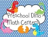 Dinosaur Math Centers