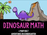 Dinosaur Math Centers {Common Core Aligned}