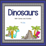 Dinosaur Math Games and Activities