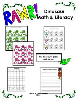 Dinosaur Math & Literacy