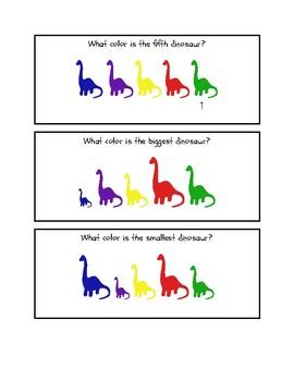 Dinosaur Math Problems