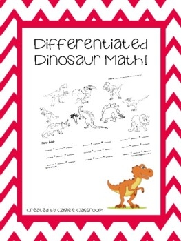 Dinosaur Math (Using a Magnifying Glass)