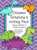 Dinosaur Math & Writing Activities Pack!
