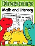 Dinosaur Math and Literacy