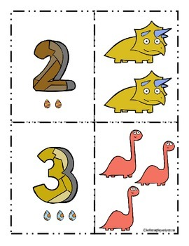Dinosaur Math and Literacy Activities