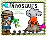 Dinosaur Activities- Kindergarten