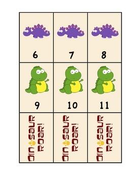 Dinosaur Math and Reading Games