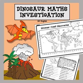 Dinosaur Maths and Science Investigation No Prep AUS UK