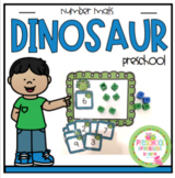Dinosaur Mats with Number Cards