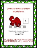 Dinosaur Measurement Worksheets
