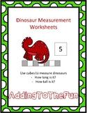 Dinosaur Measurement Worksheets