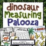 Dinosaur Measuring Palooza -- Dinosaur Measurement Math Centers
