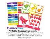 ★ Dinosaur Egg Match Game