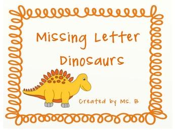 Dinosaur Missing Letters