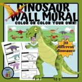 Dinosaur Mural Timeline