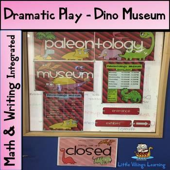 Dinosaur Museum Dramatic Play