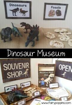 Dinosaur Museum & Souvenir Shop (Role Play)