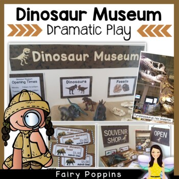 Dinosaur Museum & Souvenir Shop Role Play Pack