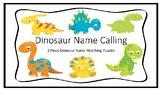 Dinosaur Name Calling