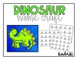 Dinosaur Name Craft