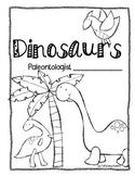 Dinosaur Non Fiction Writing Book