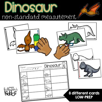 Dinosaur Non-Standard Measurement