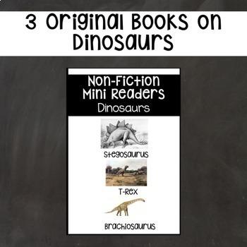 Dinosaur Nonfiction Mini Readers