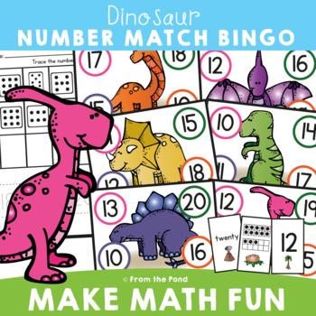 Dinosaur Number Bingo