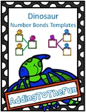Dinosaur Number Bond Templates